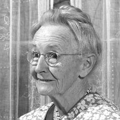 Remember - You're never too old to become an artist (photo is of Grandma Moses, who began painting in her 70s and lived to be 101)