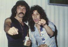 Toni Iommi & Eddie Van Halen