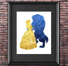 Tale as Old as Time 8x10 Poster - DIGITAL DOWNLOAD / Instant Download / Printable / Beauty and the Beast / Belle / Princess