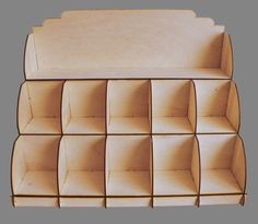 3 Tier Soap display stand - Large  MADE TO ORDER  3mm laser cut ply, flat packed with assembly instructions. Unfinished so can be sanded, waxed,