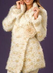 Chaleco largo tejido a palillo en punto jersey chaleco facil de tejer OjoconelArte.cl |