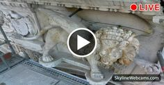 Live view of the restoration works of the Lion of Doge's Palace in #Venice. #Venezia #travel #Italy #Italia