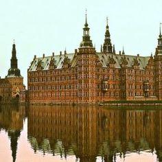 Fredericksborg Castle, Hillerod, Denmark