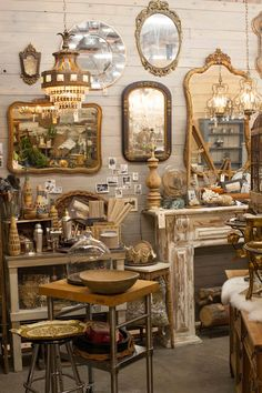 Rustic Luxe at Sweet Salvage Feb 2015 design by Myko Bocek of Aquamarina Antiques