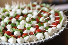 I can't tell you how many compliments I got on these silly (easy) little pops! I knew I wanted to make some version of Caprese, and I also knew that my actual preparation completely depended on the type and size oftomatoesandmozzarellathat would be available the day before this party. One of my fabulous coworkers gave...Read More »