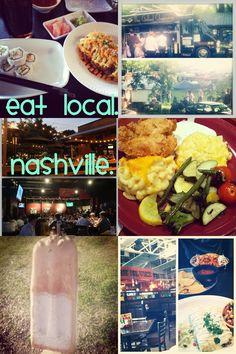 Local restaurants in Nashville, TN