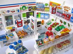 Lego grocery store