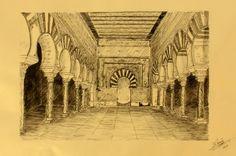 Salón rico de Medina Azahara - Decoración Árabe  http://www.decoracion-arabe.es/proddetail.asp?prod=plumillacarrion05