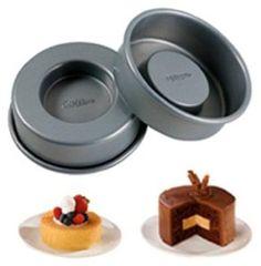 Wilton Tasty Fill Set of 4 Mini Cake Pan Set