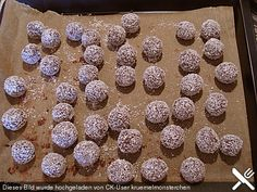 Baileys – Kugeln (Rezept mit Bild) von tasmia | Chefkoch.de