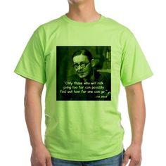 Eliot Risk Quote T-Shirt on CafePress.com