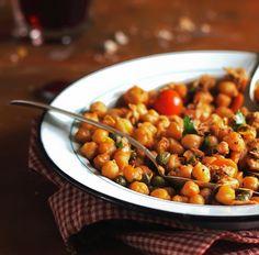 Kichererbseneintopf mit Gemüse Tags: