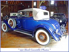 1932 Buick Convertible Phaeton by sjb4photos, via Flickr