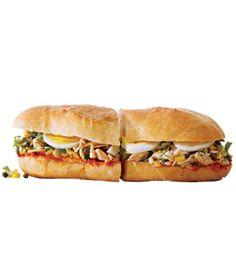 Tunisian Tuna Sandwich Recipe  - ELLEDecor.com