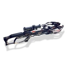 RAVIN R15 PREDATOR CROSSBOW CAMO W/ ILLUMINATED SCOPE, 6 ARROWS, QUIVER AND CRANK -Atbuz  - #atbuz #hunting #sporting #outdoorslife #outdoor #crossbow #bow