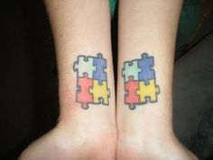 another Autism awareness tattoo ..... maybe this should be the Autism/Tattoo board....