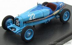 MG-MODEL REM43005 Scale 1/43  ALFA ROMEO 2300 8C SPIDER N 22 COMMINGES GP 1936 H.NICE 2 TONE BLUE