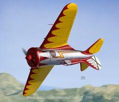 "Polikarpov I-16 Type 6 ""Aerobatic Demonstrator"", Son Bonet (Mallorca), 1939."