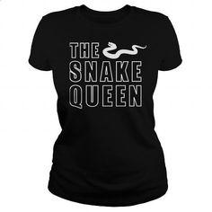 The Snake Queen T-Shirt - #polo sweatshirt #full zip hoodie. ORDER HERE => https://www.sunfrog.com/Pets/The-Snake-Queen-T-Shirt-Black-Ladies.html?id=60505