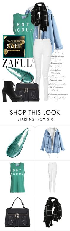"""Zaful"" by isis-anubis5 ❤ liked on Polyvore featuring Giorgio Armani, Zoe Karssen and Topshop"