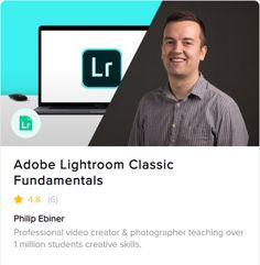 Learn how to make your photos look amazing with Fiverr's new Adobe Lightroom fundamentals course Editing Photos, Photo Editing, Creative Skills, Cloud Based, I'm Happy, Photo Look, Online Courses, Professional Photographer, Lightroom