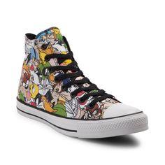 a618588db2bb NEW Converse Chuck Taylor All Star Hi Looney Tunes Sneaker Multi Print MENS   Converse