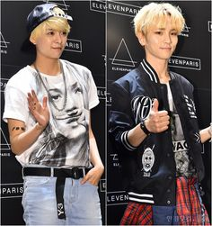 Fx Amber and Shinee Key in elevenparis