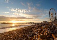 Brighton beach and Wheel