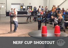 Nerf Cup Shootout: Youth Group Games - Stuff You Can Use