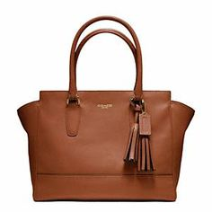 Beautiful leather carryall by @Coach, Inc. that will literally last you a lifetime, and will go with just about any outfit.    #bag #carryall #legacyleather