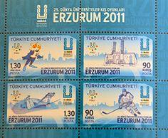 2011 WU in Erzurum (TUR) - stamp sheet