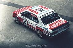 StanceWorks Desktop Wallpaper - The Motul/H&R Group A Tribute - StanceWorks Le Mans, E28 Bmw, E30, Bmw Vintage, Racing Car Design, Desktop, Bmw Classic Cars, Bmw Love, Bmw 2002