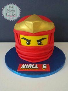 Red lego Ninjago cake!