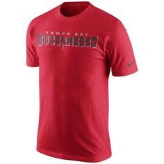 Men's Tampa Bay Buccaneers Nike Charcoal Team Travel Performance T ...