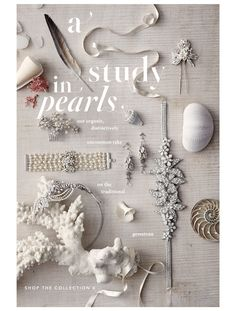 A study in pearls. Bhldn's organic, distinctively uncommon take on the traditional gemstone.