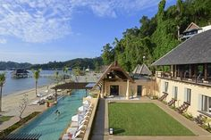 #HappyFriday Here's a little travel inspiration just for you… Gaya Island Resort in Borneo, Malaysia http://www.slh.com/hotels/gaya-island-resort/