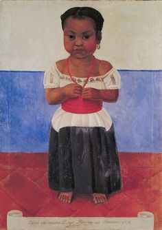 Indian Girl with Coral Necklace, Diego Rivera, 1926