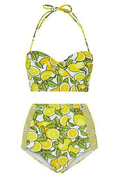 The 30 Best Swimsuits For $50 Or Less #refinery29 http://www.refinery29.com/cheap-swimsuits#slide-15 When life gives you lemons...