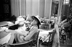 Coco Chanel (1959, by Willy Rizzo)