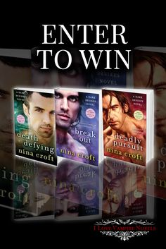 Everybody wins some killer books with this giveaway from bestselling author Nina Croft!  Check it out!