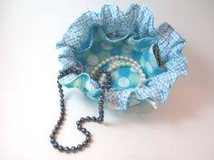 Jewelry Satchel. $10.00, via Etsy.