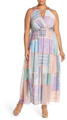 5915b94fd4ebe Plus Size Maxi Dress Big Girl Fashion