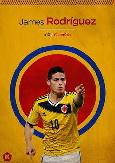 James Rodriguez - Colombia. Rising Star.