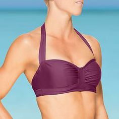 Sara Bra Cup Halter Bikini   Athleta