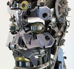 Amazing Freestanding Typewriter Sculptures from Jeremy Mayer