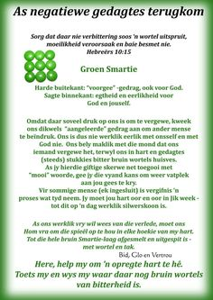Negatiewe gedagtes Prayer Verses, Bible Verses, Scriptures, Daily Quotes, True Quotes, Afrikaanse Quotes, Simply Life, Hope In God, Sunday School Teacher