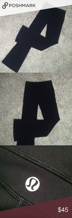 🌸LULULEMON YOGA PANTS🌸 >Lululemon yoga pants  >>size 2 >in new condition   Same/next day shipping! Pet/smoke free home! Offers welcome! Bundle & save!!  Thanks for looking, xo💋 lululemon athletica Pants