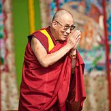 High Holiness the Dalai Lama... I owe a great debt of gratitude to this man... he played a key role in getting me to change my life. Gratitude, compassion, tolerance, and giving... those are the keys and he's a good example of living his teachings.