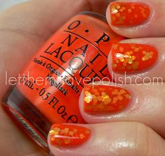 Jelly sandwich! I want to try this with Too Pink to Hold 'em and Kleancolor's purple hex glitter
