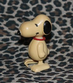 Vintage Snoopy Wind Up Toy 1960's